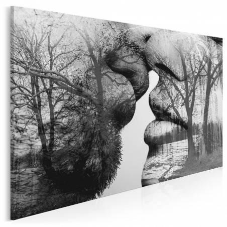 Antologia namiętności - nowoczesny obraz na płótnie - 120x80 cm