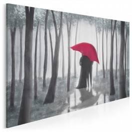 Za głosem serca - nowoczesny obraz na płótnie - 120x80 cm