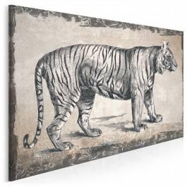 Książę dżungli - nowoczesny obraz na płótnie