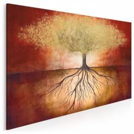 Złota korona ziemi - nowoczesny obraz na płótnie - 120x80 cm