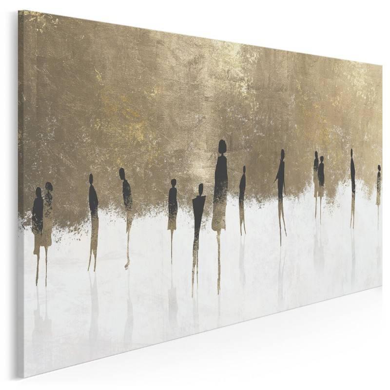 Znajomi nieznajomi - nowoczesny obraz na płótnie - 120x80
