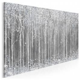 Styczeń w Petersburgu - nowoczesny obraz do sypialni - 120x80 cm