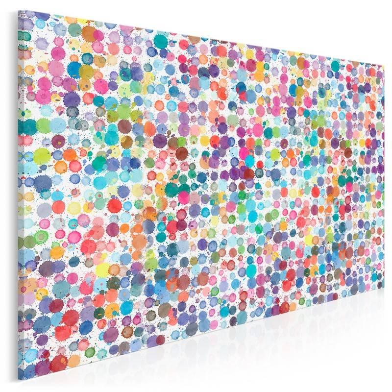 Kropka w kropkę - nowoczesny obraz na płótnie - 120x80 cm