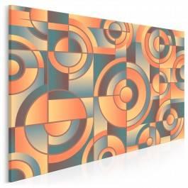 Machineria - nowoczesny obraz na płótnie - 120x80 cm