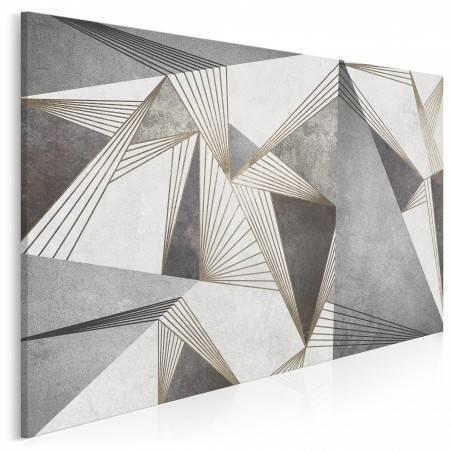 Dysproporcja - nowoczesny obraz na płótnie - 120x80 cm