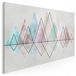 Diamentowy szlak - nowoczesny obraz na płótnie - 120x80 cm