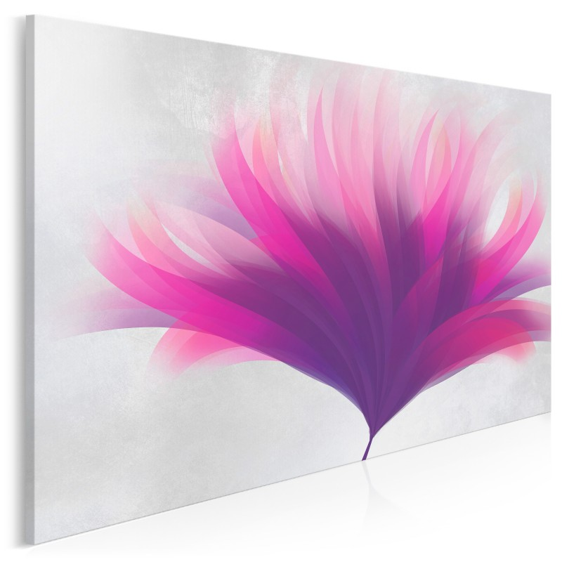 Aksamitna ewolucja - nowoczesny obraz na płótnie - 120x80 cm