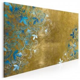 Bluszcz zapomnienia - nowoczesny obraz do salonu - 120x80 cm