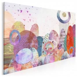 Nibylandia - nowoczesny obraz na płótnie - 120x80 cm