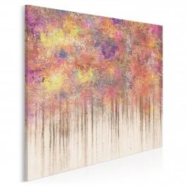 Z wnętrza do głębi - nowoczesny obraz na płótnie - 80x80 cm