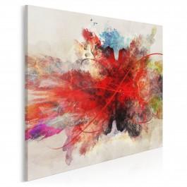 W objęciach Morfeusza - nowoczesny obraz na płótnie - w kwadracie