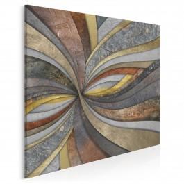 Odchłań wskrzeszenia - nowoczesny obraz na płótnie - 80x80 cm