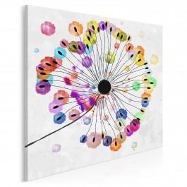 Podmuch radości - nowoczesny obraz na płótnie - w kwadracie