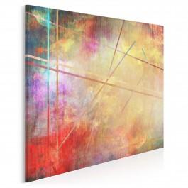 Kuźnia pożądania - nowoczesny obraz na płótnie - 80x80 cm