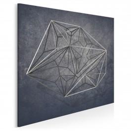 Tryb incognito - nowoczesny obraz na płótnie - 80x80 cm