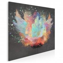 Niepokorny - nowoczesny obraz na płótnie - 80x80 cm