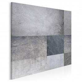 Proste zawiłości - nowoczesny obraz na płótnie - 80x80 cm