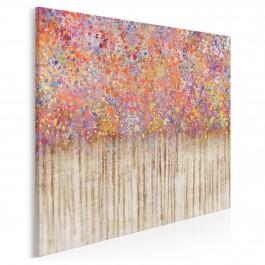 Ambiwalencja uczuć - nowoczesny obraz na płótnie - 80x80 cm