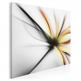 Wdzięczne ekwilibrium - nowoczesny obraz do sypialni - 80x80 cm