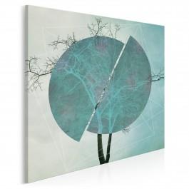 Przełom awangardy - nowoczesny obraz na płótnie - 80x80 cm