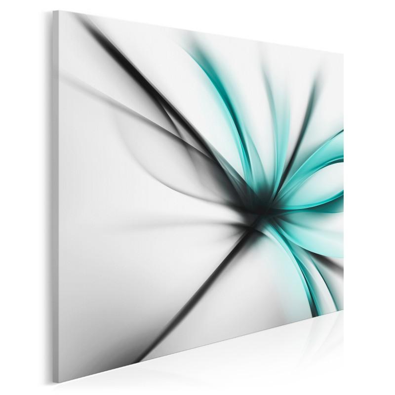 Stoicki spokój - nowoczesny obraz do salonu - 80x80 cm