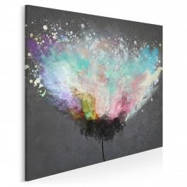 Wyzwolenie - nowoczesny obraz na płótnie - 80x80 cm