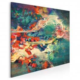 Archipelag marzeń - nowoczesny obraz na płótnie - 80x80 cm