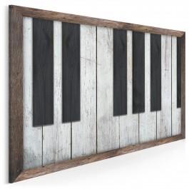 Kunsztowna uwertura - nowoczesny obraz na płótnie - 120x80 cm