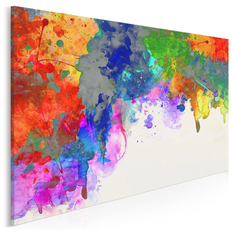 Kontaminacja - nowoczesny obraz na płótnie - 120x80 cm