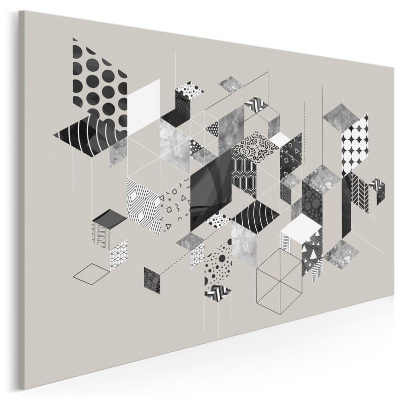 W okowach instynktu - nowoczesny obraz na płótnie - 120x80 cm