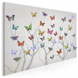 Azymut wdzięku - nowoczesny obraz na płótnie - 120x80 cm