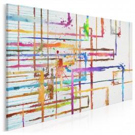 Insygnia dobrych myśli - nowoczesny obraz na płótnie - 120x80 cm