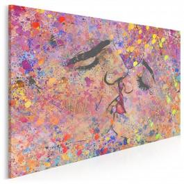Oktawy miłości - nowoczesny obraz na płótnie - 120x80 cm