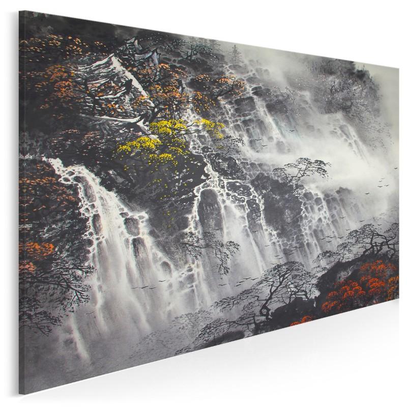 Wodospad pereł - nowoczesny obraz na płótnie