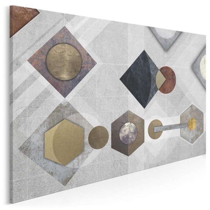 Punkt odniesienia - nowoczesny obraz na płótnie - 120x80 cm