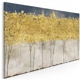 Złote żniwa - nowoczesny obraz na płótnie