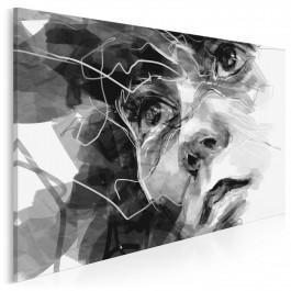 Osobista refleksja - nowoczesny obraz na płótnie - 120x80 cm