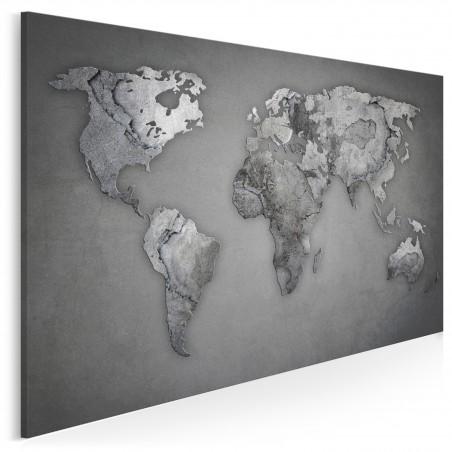 Epoka kamienia - nowoczesny obraz na płótnie - 120x80 cm