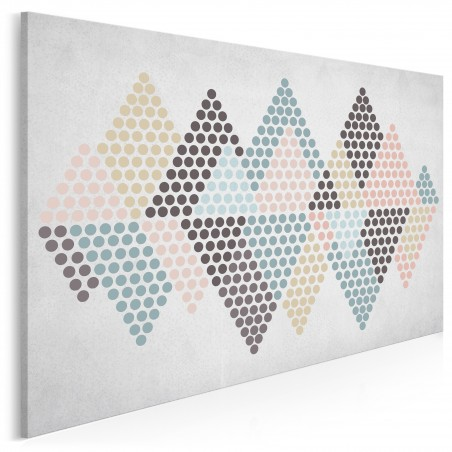 U szczytu szczęścia - nowoczesny obraz na płótnie - 120x80 cm