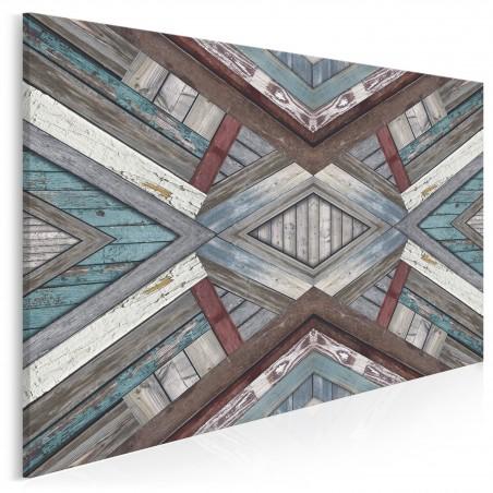 Sztuka przemijania - nowoczesny obraz na płótnie - 120x80 cm