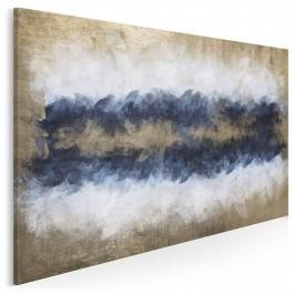 Sztorm - nowoczesny obraz na płótnie - 120x80 cm