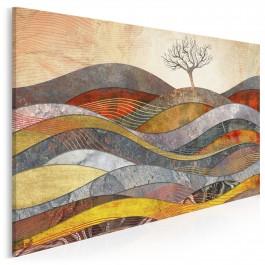 Wzgórze cudów - nowoczesny obraz na płótnie