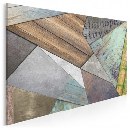 Strukturologia - nowoczesny obraz do salonu - 120x80 cm