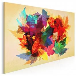 Bulwar szczęścia - nowoczesny obraz na płótnie - 120x80 cm