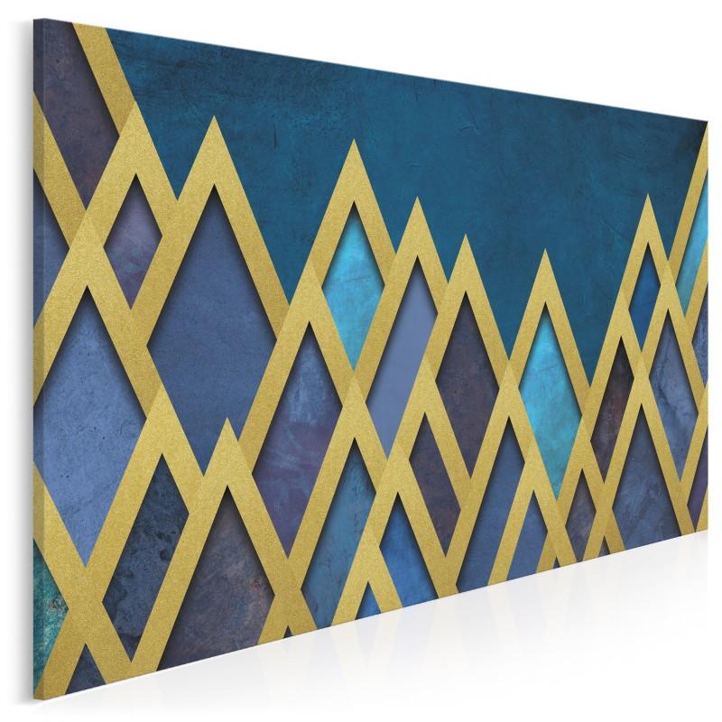 Skarbce faraonów - nowoczesny obraz na płótnie - 120x80 cm
