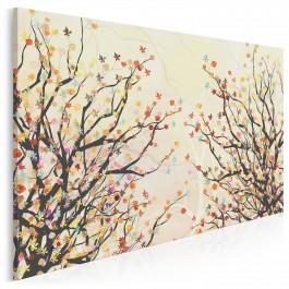 Letni poryw - nowoczesny obraz na płótnie - 120x80 cm