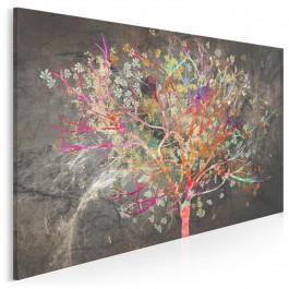 Zachłyśnięci szczęściem - nowoczesny obraz na płótnie - 120x80 cm