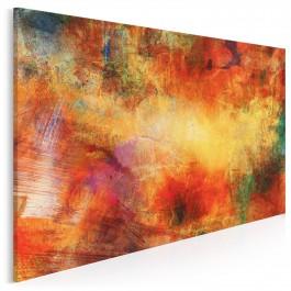 Błysk i mrok - nowoczesny obraz na płótnie - 120x80 cm