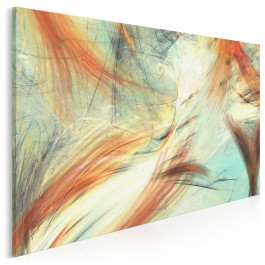 Rybi ogon - nowoczesny obraz na płótnie - 120x80 cm
