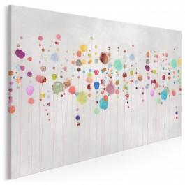 Stan nieważkości - nowoczesny obraz na płótnie - 120x80 cm